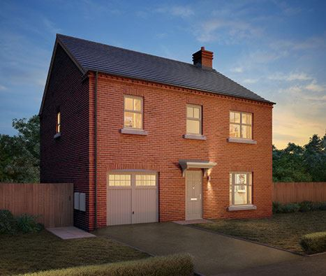 Burton on Trent, Temptation, Stockholm four bedroom detached home