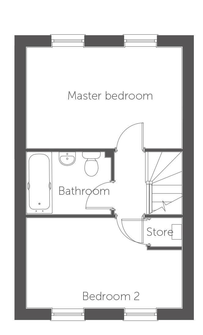 Milan floor plan