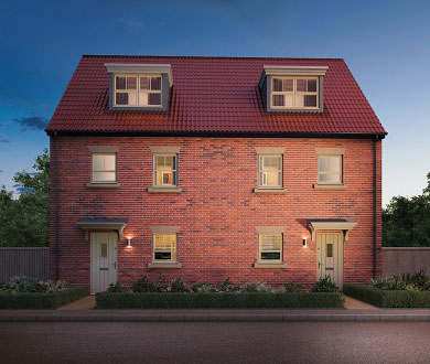 Emotion | 3 - 4 Bedroom Homes in Hull