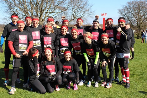 TEAM STRATA FACES FIRST MAJOR CHARITY CHALLENGE