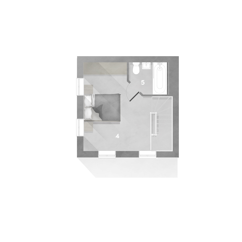 The Livorno floor plan